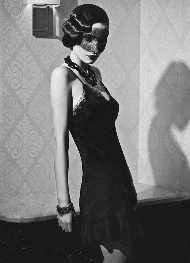 Mode et coiffure des années 1920 dans mode vintage rétro PatriciaFieldwalker20snoir