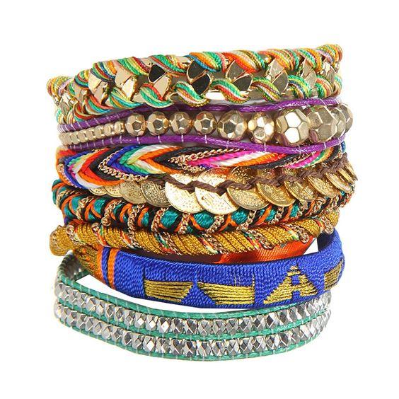 bracelet manchette bresilien hipanema